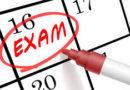 Calendario exámenes de septiembre 2020