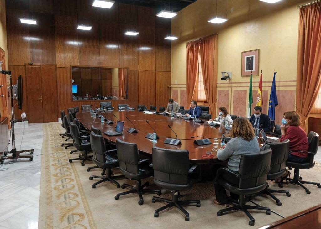 Comparecencia de nuestros alumnos en el Parlamento Andaluz