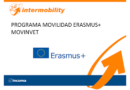 Convocatoria ERASMUS+ programa MOVINNET