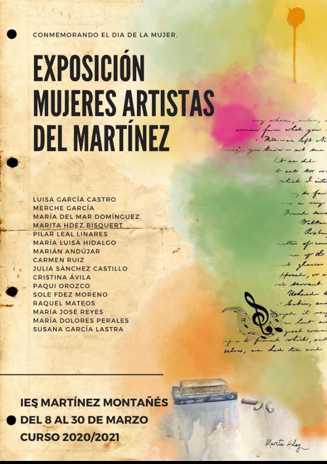 """Exposición """"Mujeres artistas del Martínez"""""""