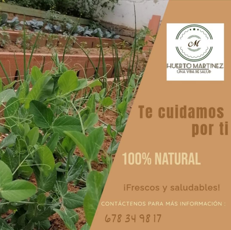 Huerto Martínez, huerto ecológico
