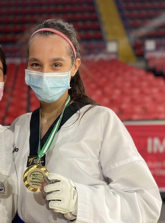 Beatriz Moreno de 4º C, Campeona de Andalucía Occidental por segundo año consecutivo